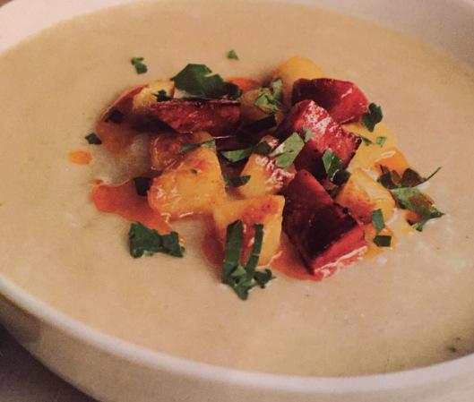Nadia Gravess Jerusalem Artichoke Soup