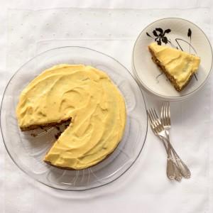 Roberta Muirs Carrot Cake with Orange Cream Cheese Frosting