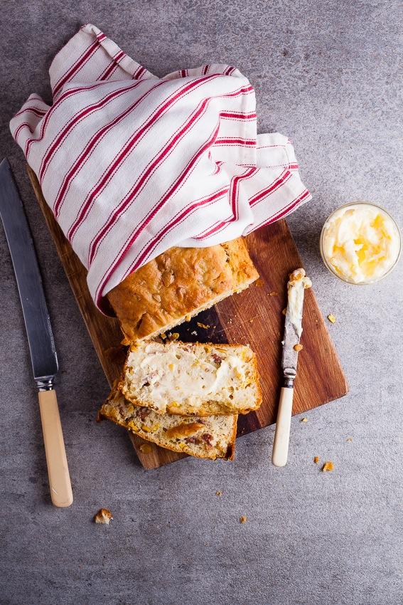Alida Ryders Bacon Corn Bread