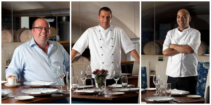 De Grendel Restaurant Jonathan Davies Ian Bergh Garth Davids