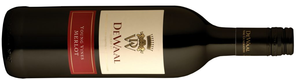 De Waal Young Vines Merlot 2012
