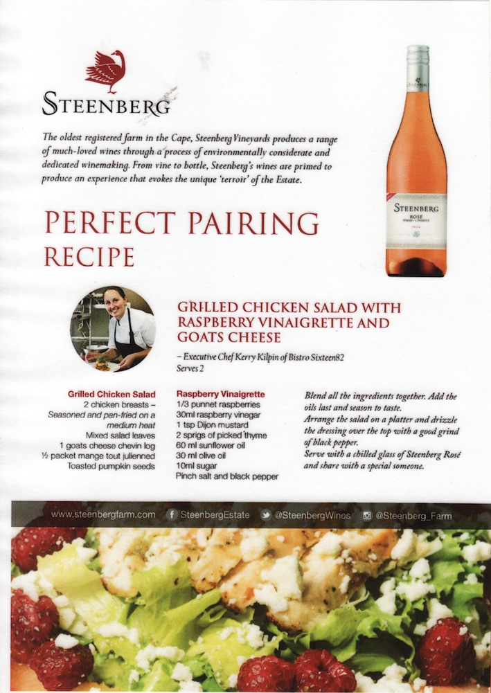 Steenberg - Recipe for Rosé 2016