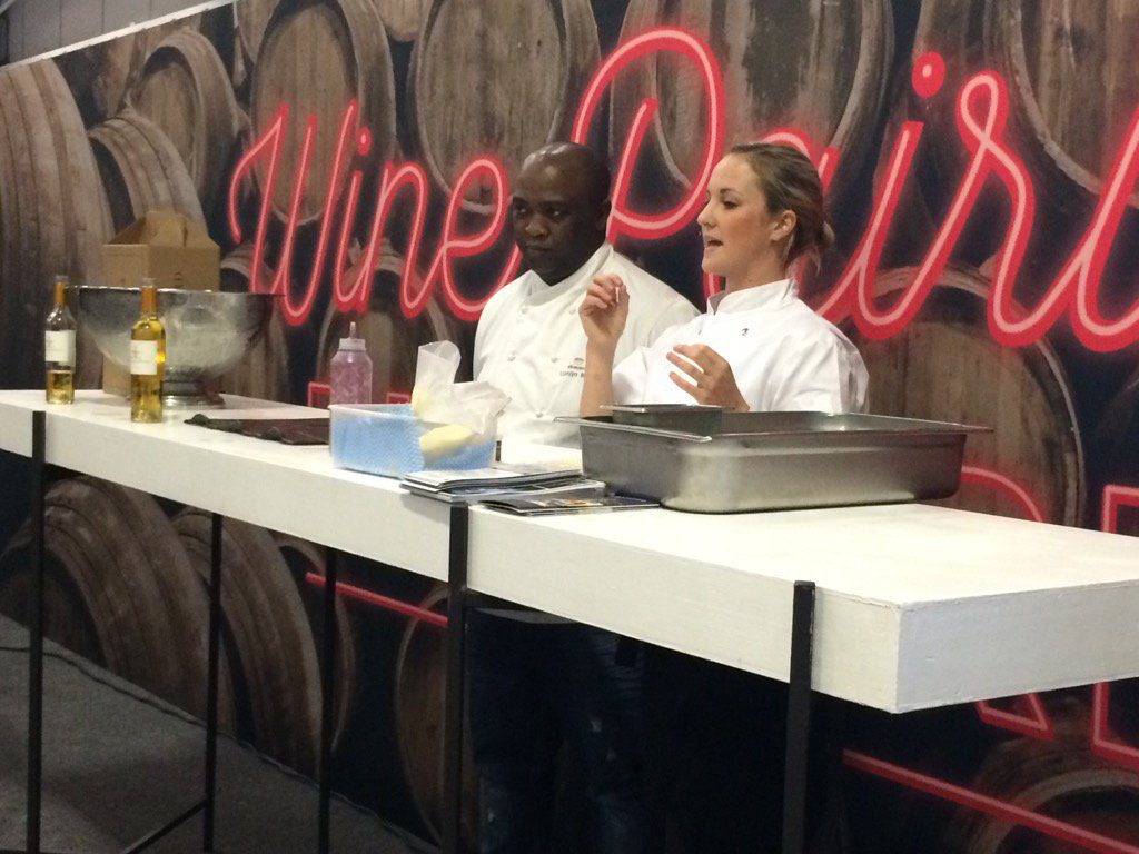 Vineyard Chefs Luvuyo & Gabriella