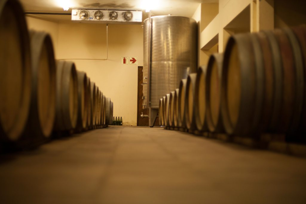 A The De Waal Barrel Cellar