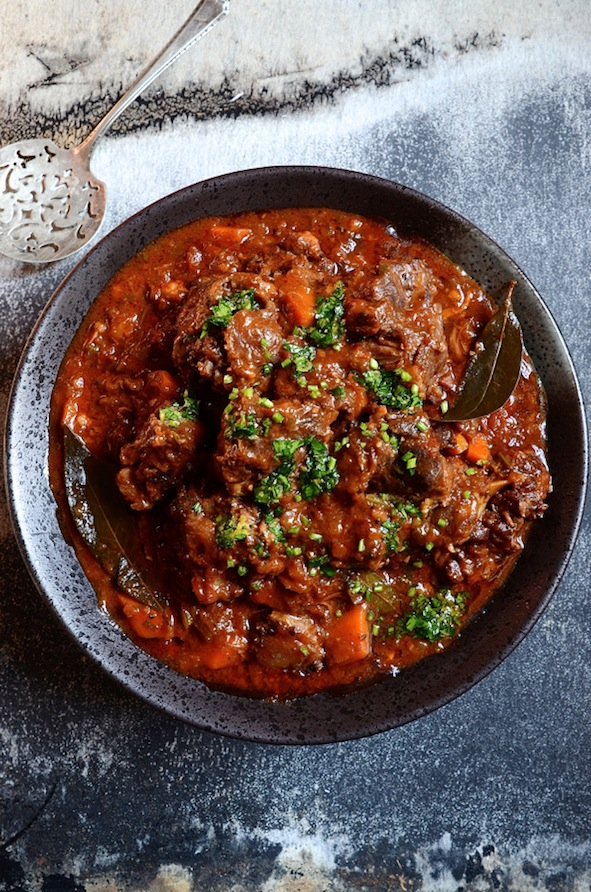 Dianne Bibbys Slow Braised Red Wine Oxtail