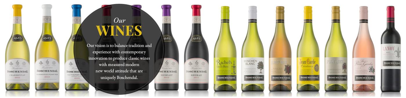 Boschendal wines range michael olivier for Boschendal wine
