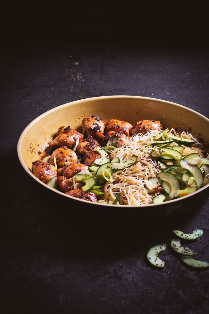 asian-chicken-with-rice-noodles-cucumber-salad