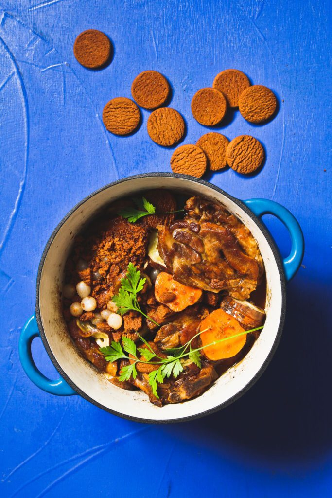 pork-neck-chops-with-ginger-biscuits