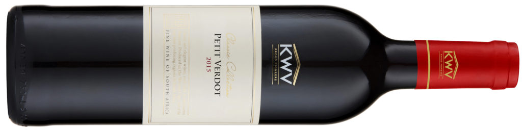 KWV Classic Collection Petit Verdot 2015 without WMA logo