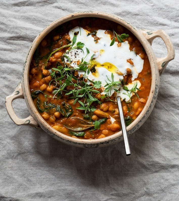 DIanne Bibby Ginger and Turmeric Chickpea Stew